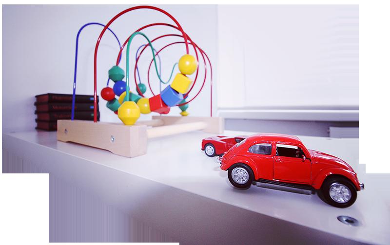 Kinderspielzeug mit rotem Ferrari enzo